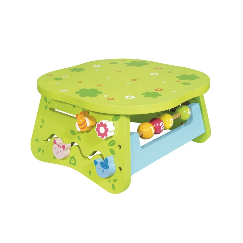 wooden multi activity table for children off 1 year. Black Bedroom Furniture Sets. Home Design Ideas